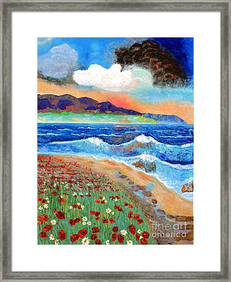 Golden Beach 1 Framed Print