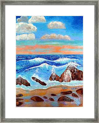 Golden Beach 2 Framed Print