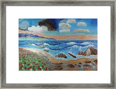Golden Beach Framed Print