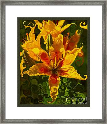 Golden Beauties Framed Print by Omaste Witkowski