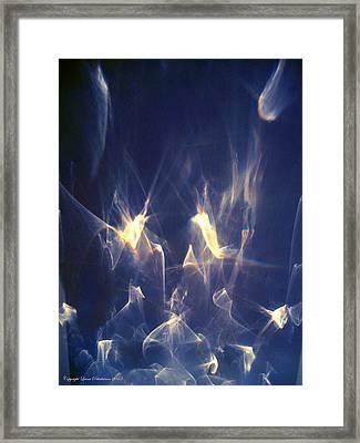 Framed Print featuring the photograph Golden Birds by Leena Pekkalainen