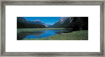 Golden British Columbia Canada Framed Print by Panoramic Images