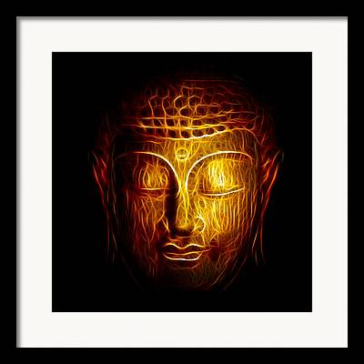 Fractalius Digital Art Framed Prints