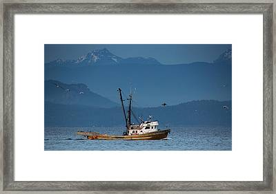 Golden Chalice Framed Print by Randy Hall