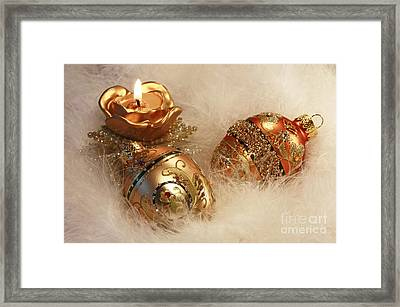 Golden Christmas Moments Framed Print by Inspired Nature Photography Fine Art Photography