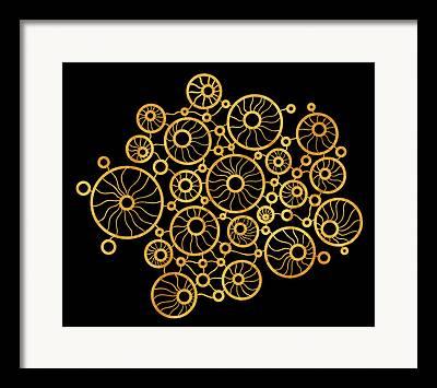 Geometric Style Drawings Framed Prints