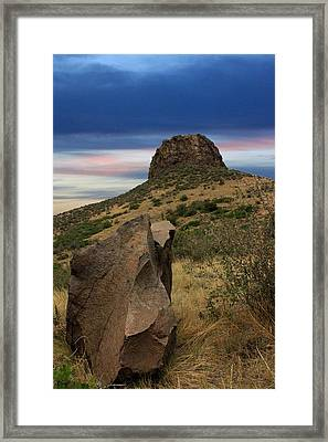 Golden Colorado Sunset  Framed Print
