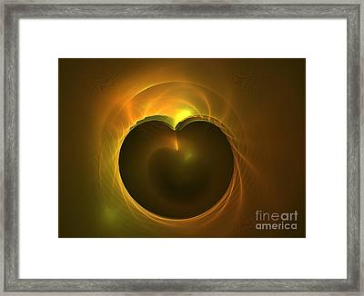 Golden Delicious Framed Print by Kim Sy Ok