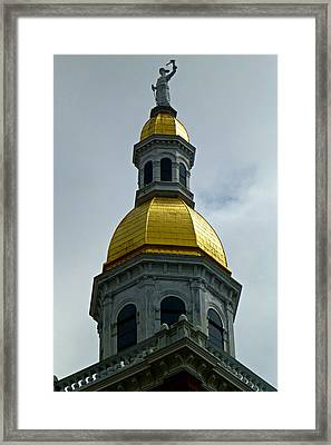 Golden Dome Framed Print by Soul Full Sanctuary Photography