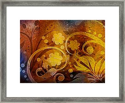 Golden Dreams Framed Print by Lutz Baar