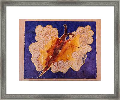Golden Fantasy Framed Print