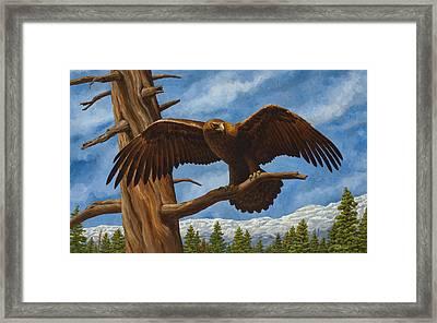 Golden Flex Framed Print by Crista Forest