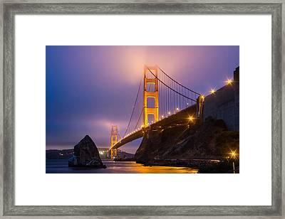 Golden Gate Beauty Framed Print