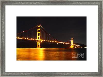 Golden Gate Bridge 2 Framed Print by Theresa Ramos-DuVon