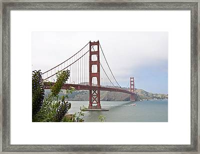 Golden Gate Bridge 3 Framed Print