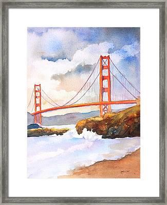 Golden Gate Bridge 4 Framed Print