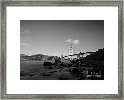 Golden Gate Bridge  Framed Print by Catherine Lau