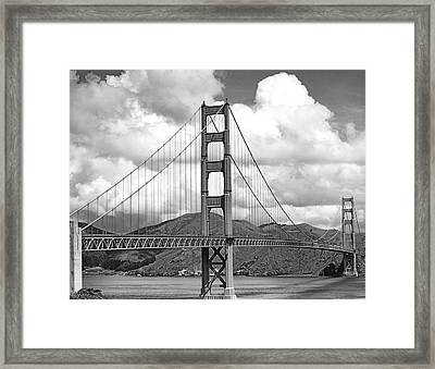 Golden Gate Bridge Framed Print by Underwood Archives