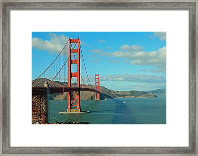 Golden Gate Bridge Framed Print
