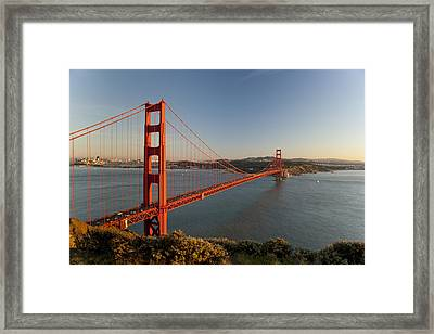 Golden Gate Bridge Framed Print by Francesco Emanuele Carucci
