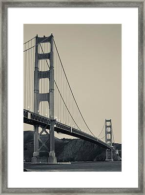 Golden Gate Bridge From Fort Point Framed Print