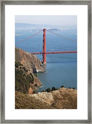 Golden Gate Bridge II Framed Print