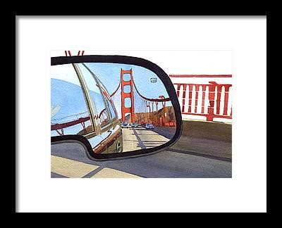 San Francisco Bay Framed Prints