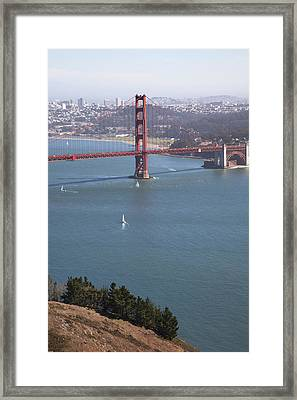 Golden Gate Bridge Framed Print by Jenna Szerlag