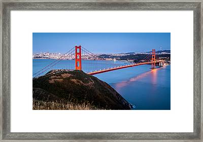 Golden Gate Bridge Framed Print by Mihai Andritoiu