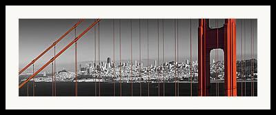 Coit Tower Framed Prints