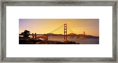 Golden Gate Bridge San Francisco Ca Usa Framed Print