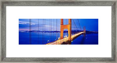 Golden Gate Bridge, San Francisco Framed Print by Panoramic Images