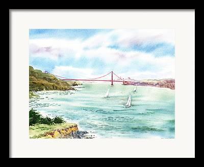 Sausalito Paintings Framed Prints
