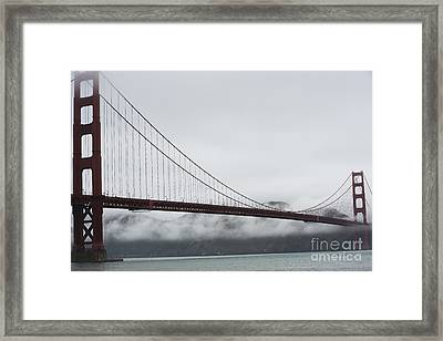 Golden Gate By The Bay Framed Print by David Bearden