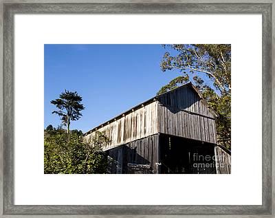 Golden Gate Dairy Framed Print by Juan Romagosa