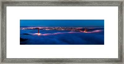 Golden Gate Framed Print by Francesco Emanuele Carucci