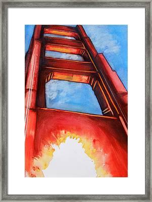 Golden Gate Light Framed Print