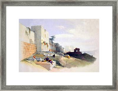 Golden Gate Of The Temple Framed Print