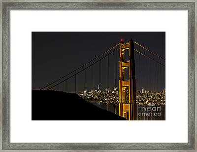 Golden Gate Framed Print