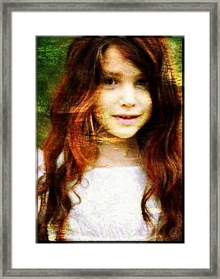 Golden Girl Framed Print by Gun Legler