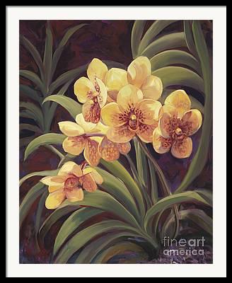Floral Grouping Framed Prints