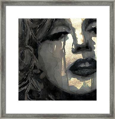 Golden Goddess Framed Print by Paul Lovering