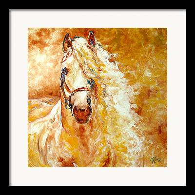 Palomino Framed Prints
