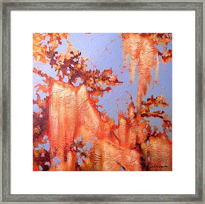 Golden Hour 5 Framed Print by Carlynne Hershberger
