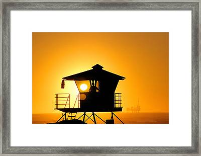 Golden Hour Framed Print by Tammy Espino