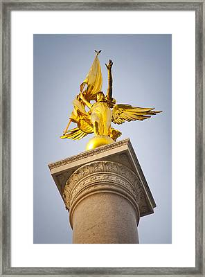 Golden Lady Framed Print by Rob Thompson