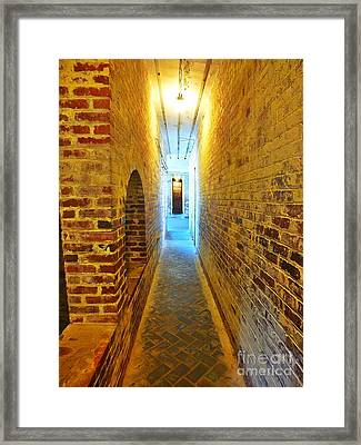 Golden Light Framed Print by Christy Ricafrente