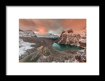 Plateau Framed Prints