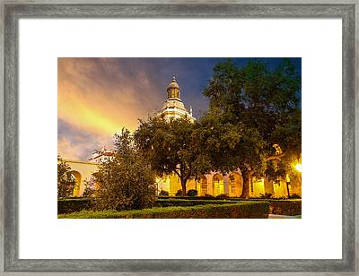 Golden Light Framed Print by Robert Hebert