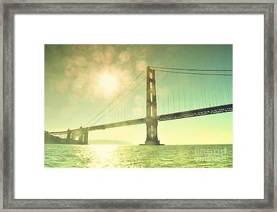 Golden... Framed Print